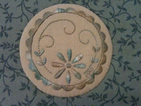 Satin Stitch - Rosalie Quinlan design
